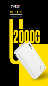 Tiitan 20000mAh Li-Polymer Power Bank P20