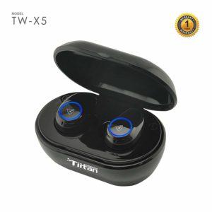 Tiitan True Wireless Earbuds Bluetooth 5.0 Earphones TW-X5