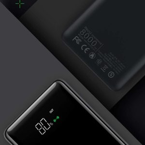 Tiitan 8000mAh Qi Smart Wireless & Wired Charging Li-polymer Power Bank with Dual USB I/O, P8-Cruz