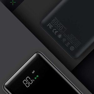 Tiitan 8000mAh Qi Smart Wireless & Wired Charging Li-polymer Power Bank with Dual USB I/O, P8-Cruz